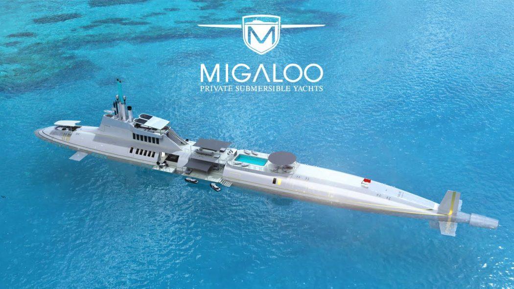 เรือดำน้ำ Migaloo Private Submersible-Yacht1