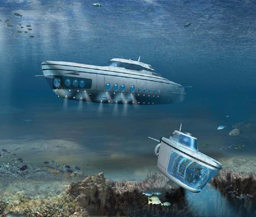 เรือดำน้ำ phoeni 1000